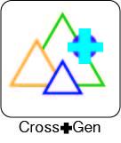 Cross+Gen Logo
